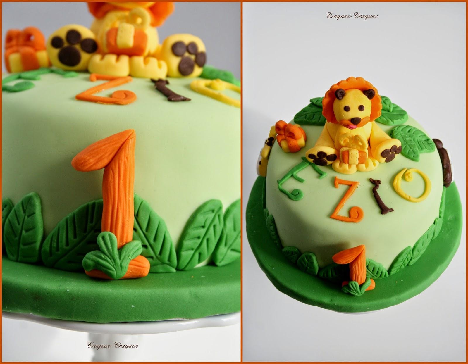 Jungle Cake Croquez Craquez