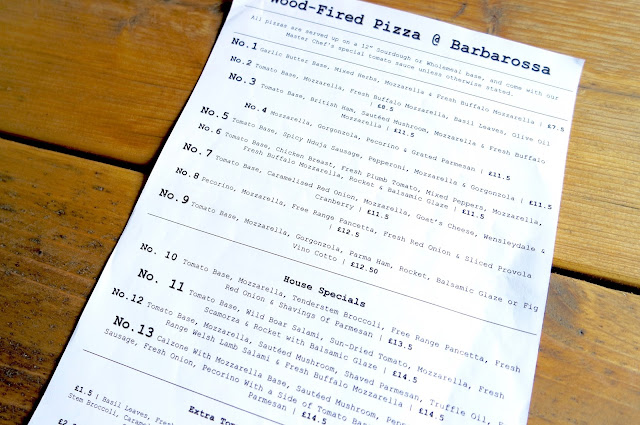 Barbarossa Pizza Kitchen & Bar, Middlesbrough Bedford Street