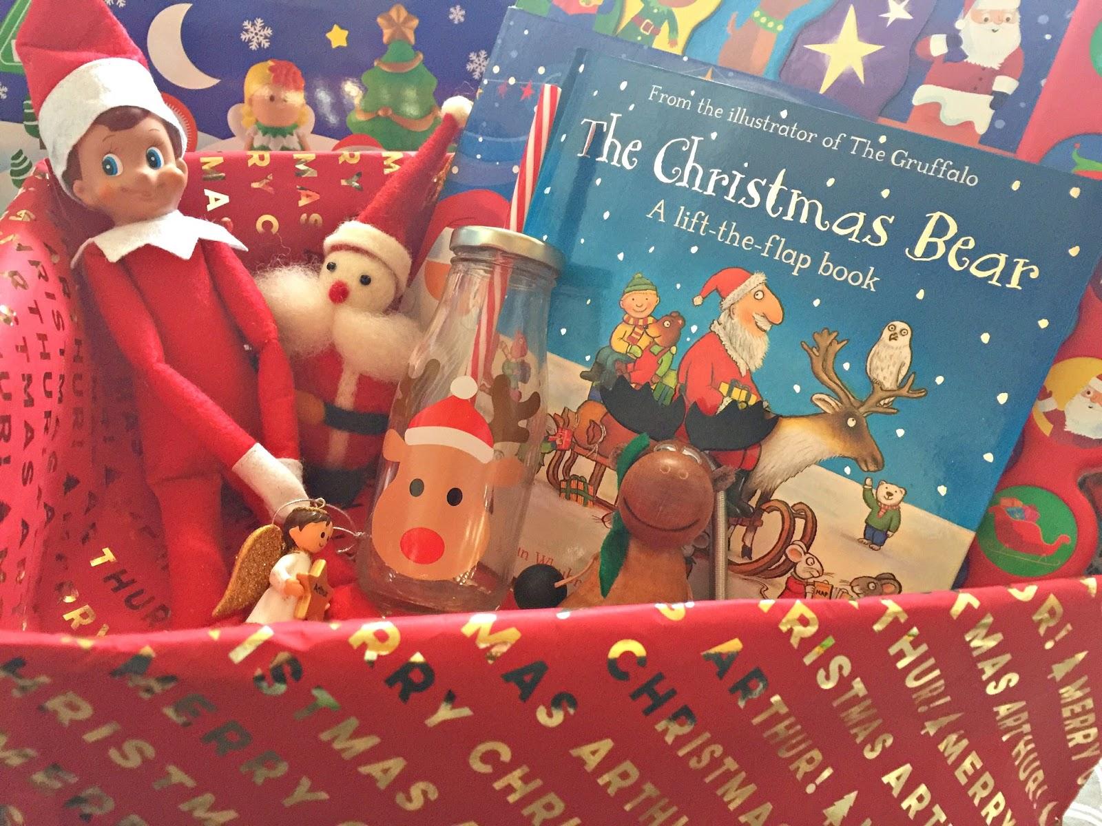 Christmas Traditions Making A Christmas Box