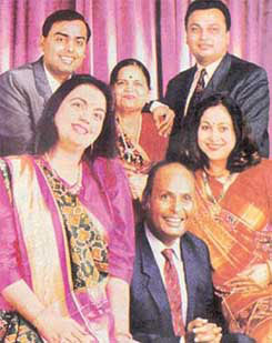 anil ambani and mukesh relationship trust