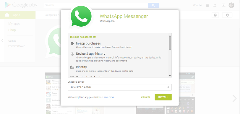 download android apps from pc