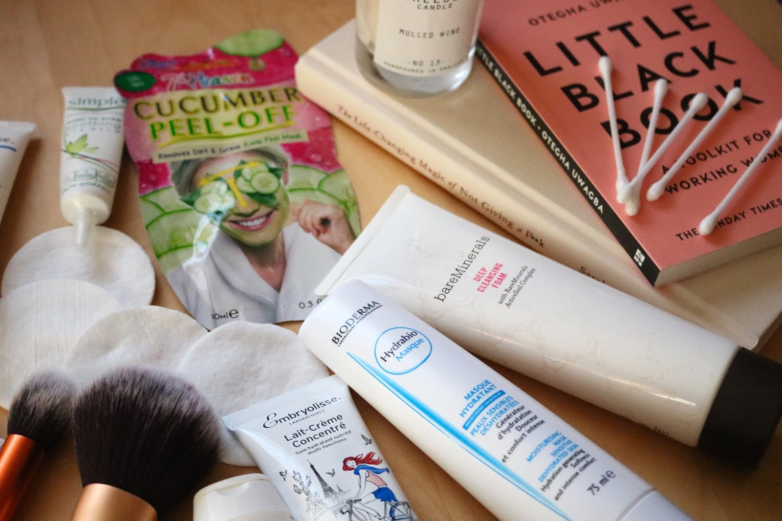 Winter Skincare Checklist products
