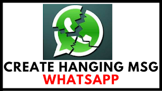 How-To-Create-Don't-Touch-Here-Message-For-Whatsappp-Hang, whatsapp-don't-touch-here,message-hang-crash-whatsapp-account