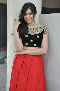 Actress Adah Sharma Latest Stills at Garam Success Meet  0032.jpg