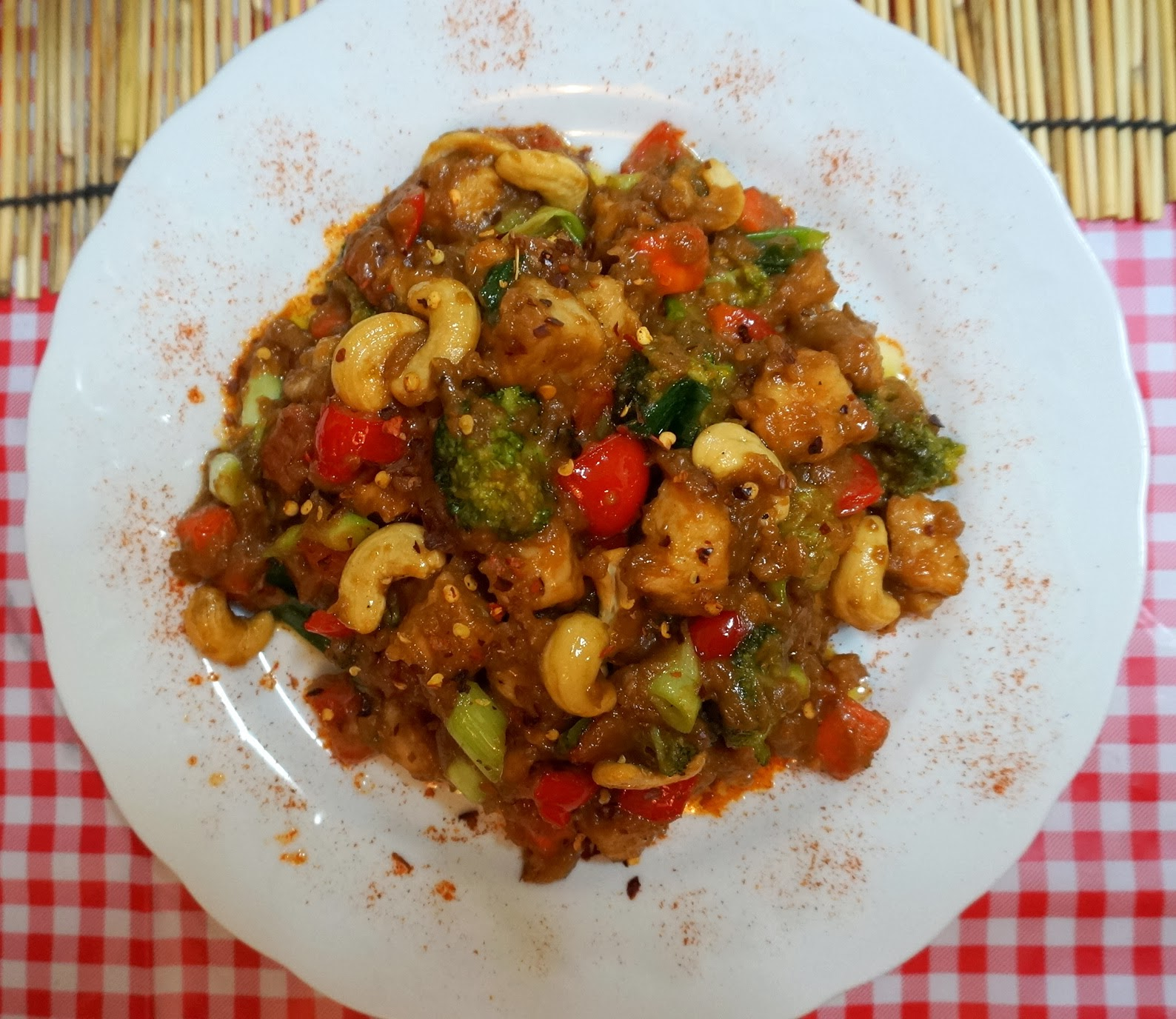 Recipe: Peanut Butter Chicken And Cashews Stir Fry