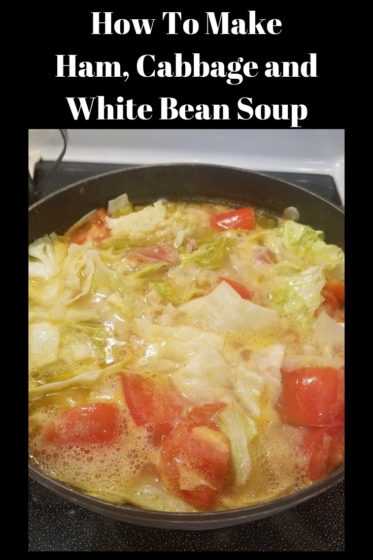 this is how to make ham cabbage and white bean soup