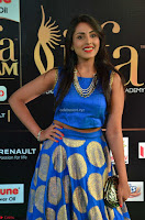 Madhu Shalini Looks Super Cute Slim trim Blue Choli Ghagra IIFA Utsavam Awards 005.JPG
