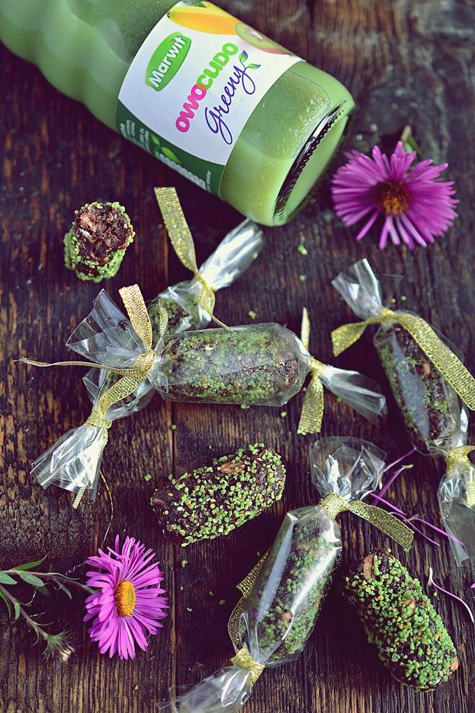 Zdrowa słodycz ... cukierki z nasionami chia, konopi oraz młodym jęczmieniem