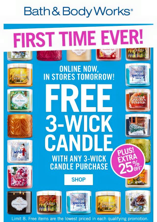 Life Inside The Page Bath Amp Body Works Today S Email
