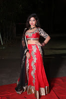 Sirisha Dasari in Red Ghagra Backless Choli ~  027.JPG