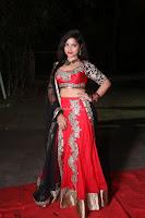 Sirisha Dasari in Red Ghagra Backless Choli ~  027.JPG