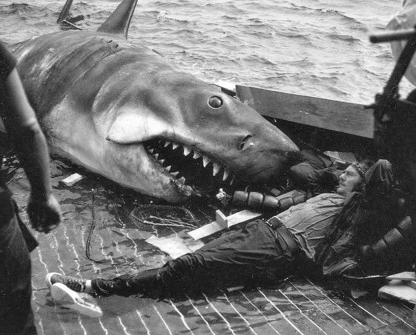 Steven Spielberg Tiburón Robert Shaw