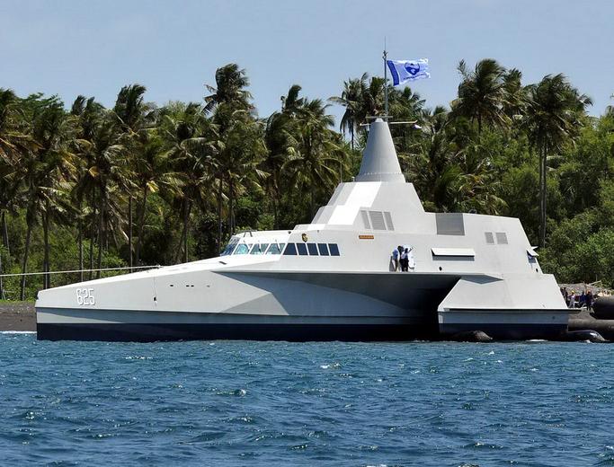 Kapal Perang Siluman KRI Klewang Class