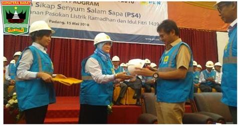 Gubernur Irwan Prayitno : apresiasi PLN Wilayah Sumatera Barat