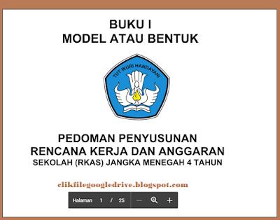 Download Pedoman RKAS Dan RKT Kepala Sekolah