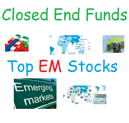 Top Emerging Markets Stock Closed End Funds