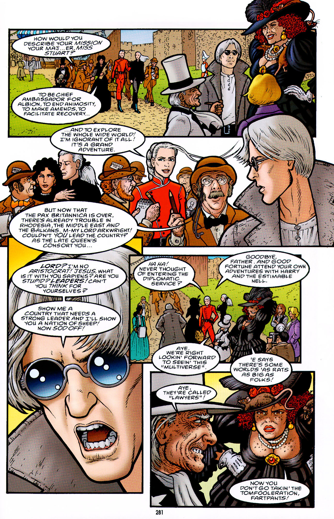 Read online Heart of Empire comic -  Issue #9 - 31