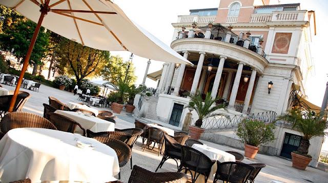 Restaurante Casina Valadier em Roma
