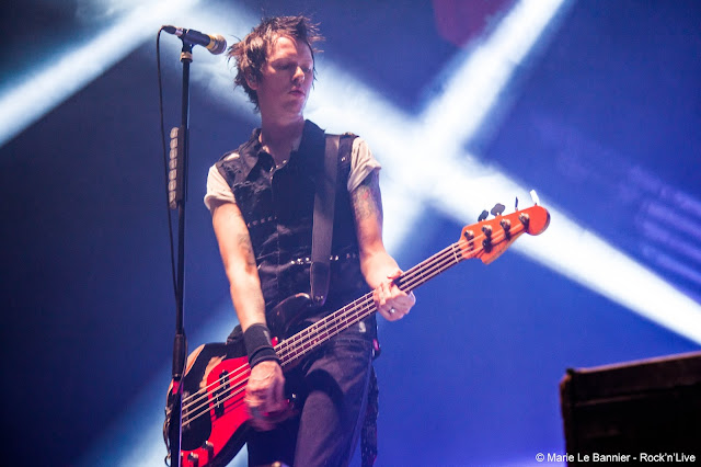 Sum 41 Zénith Paris Rock'n'Live Marie Le Bannier Concert Photos Report Live Rock Punk Paris Deryck Whibley 13 Voices In Too Deep Dave Brownsound Cone Frank Zumo Tom Thacker Fat Lip Still Waiting