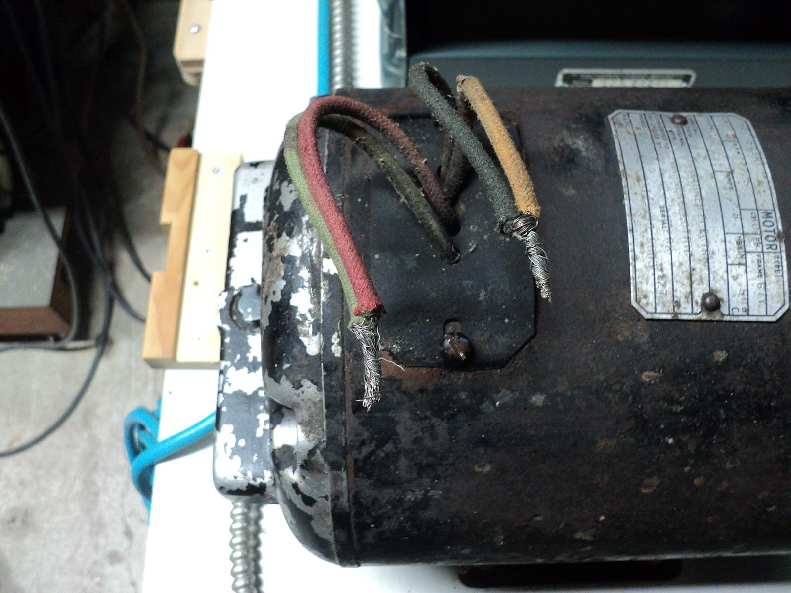 Rouge River Workshop An Antique Wagner Electric 12 HP Electric Motor – Rp1 Wagner Electric Motor Wiring Diagram
