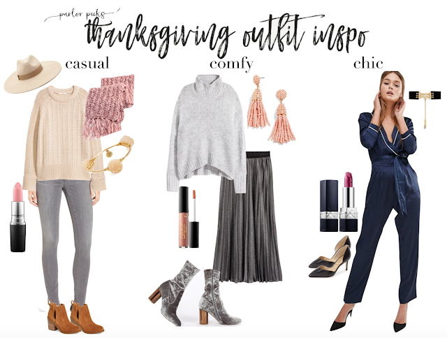thanksgiving holiday outfit inspiration ideas