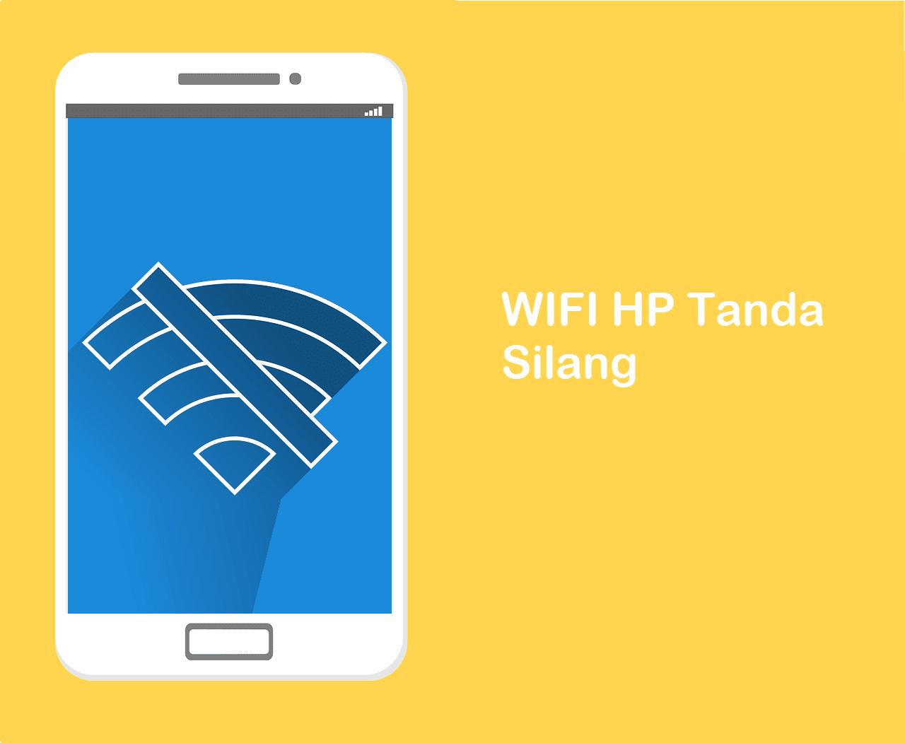 WIFI Tidak Bisa Connect Tanda Silang