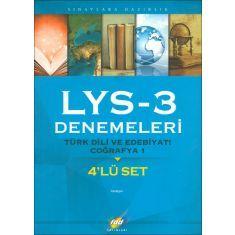 FDD LYS-3 Türk Dili ve Edebiyatı, Coğrafya1 4lü Deneme Sınavı (2015)