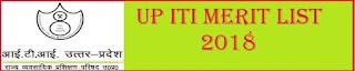 UP ITI Merit List 2018 Cut Off List