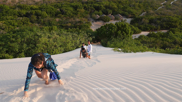 Sunset at Lencois Maranhenses, Barreirinhas, Brazil