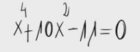 28. Ecuación bicuadrada 1