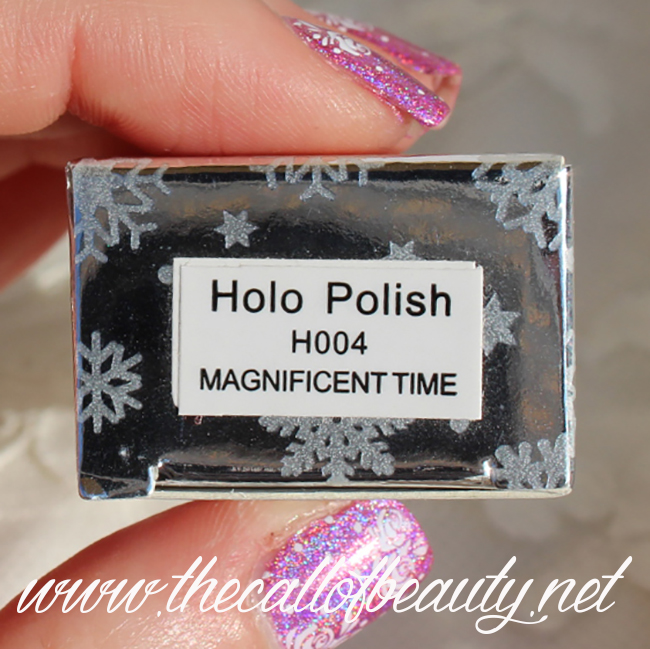 Born Pretty Holo Polish H004 Magnificent Time