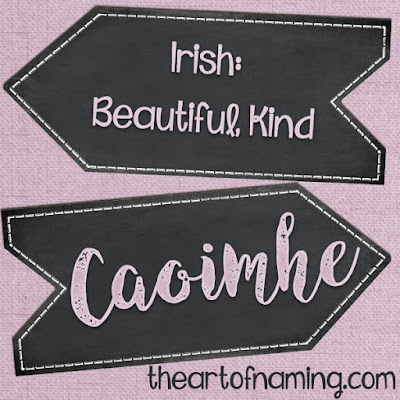 The Art of Naming - caoimhe pronunciation - how to pronounce caoimhe - Irish baby names  gaelic