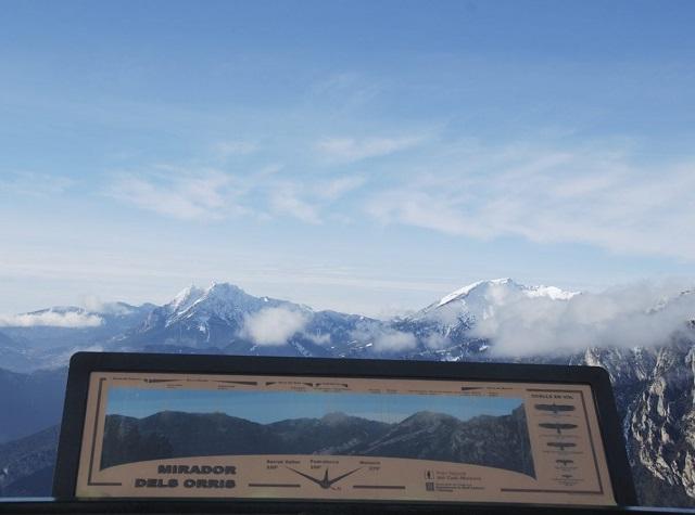 Vista panoràmica del parc