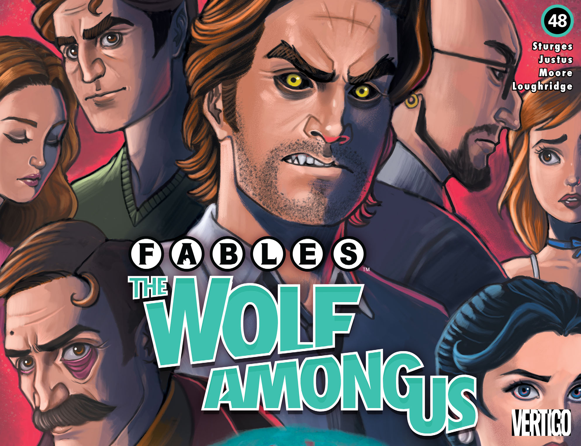 Fables: The Wolf Among Us (2014) 48 Page 1