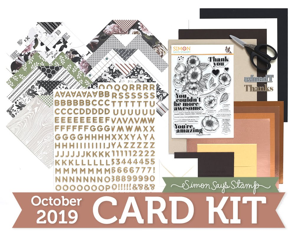 Simon's October Card Kit