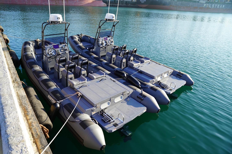 Відділи спеціальних дій Одеського та Маріупольського загонів морської охорони ДПСУ отримали малі катери виробництва харківського підприємства Бріг ЛТД