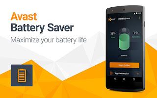 برنامج avast battery saver لزياده عمر البطاريه اخر اصدار 2017
