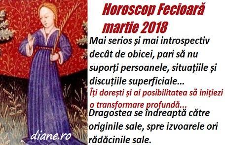 Horoscop martie 2018 Fecioară