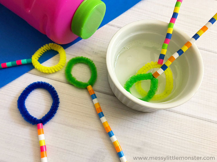 bubble wands, bubble play