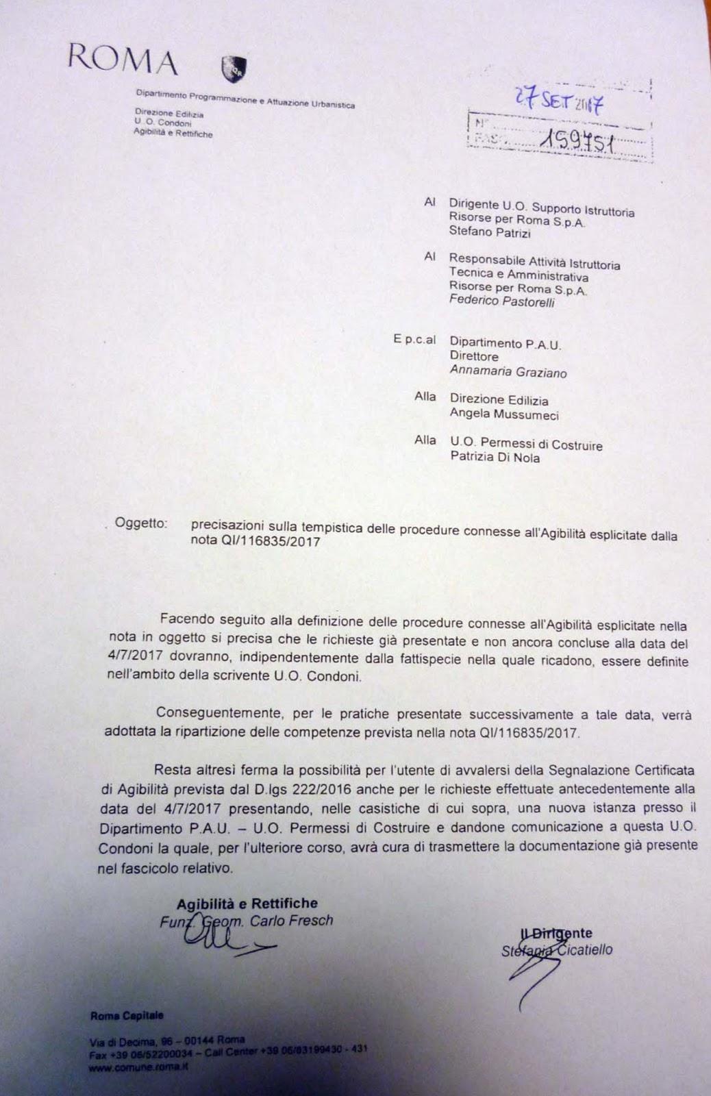 Diari di un architetto condoni ed agibilit a roma - Agibilita immobile ...
