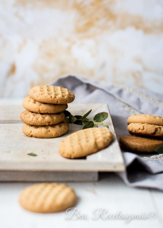 Galletas de mantequilla de cacahuete de Lorraine Pascale