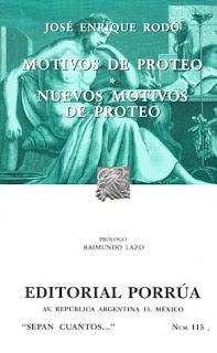 Motivos de Proteo ; Nuevos motivos de Proteo / José Enrique Rodó