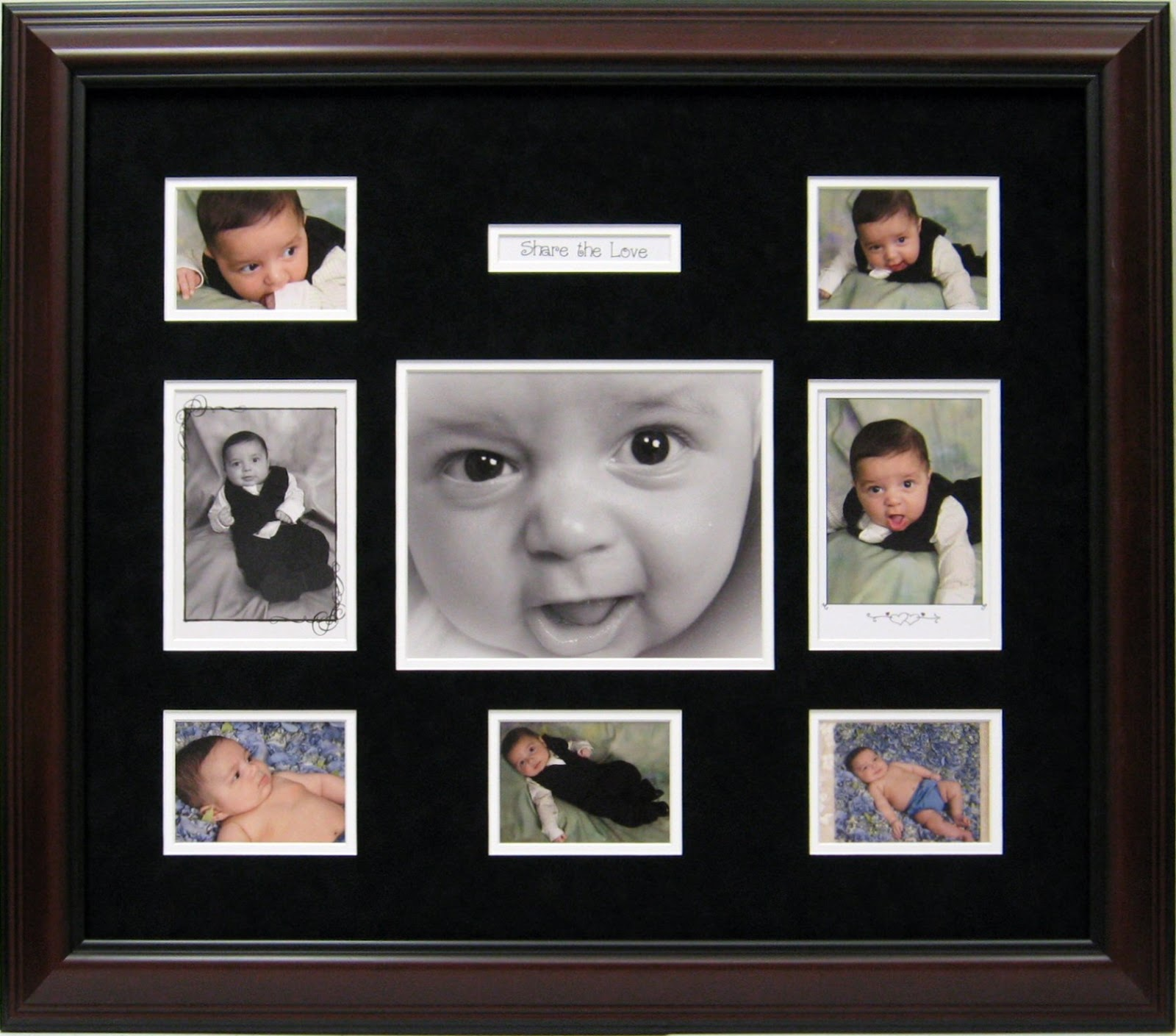 Baby Frames and Baby Shadow box Ideas | CSD Framing