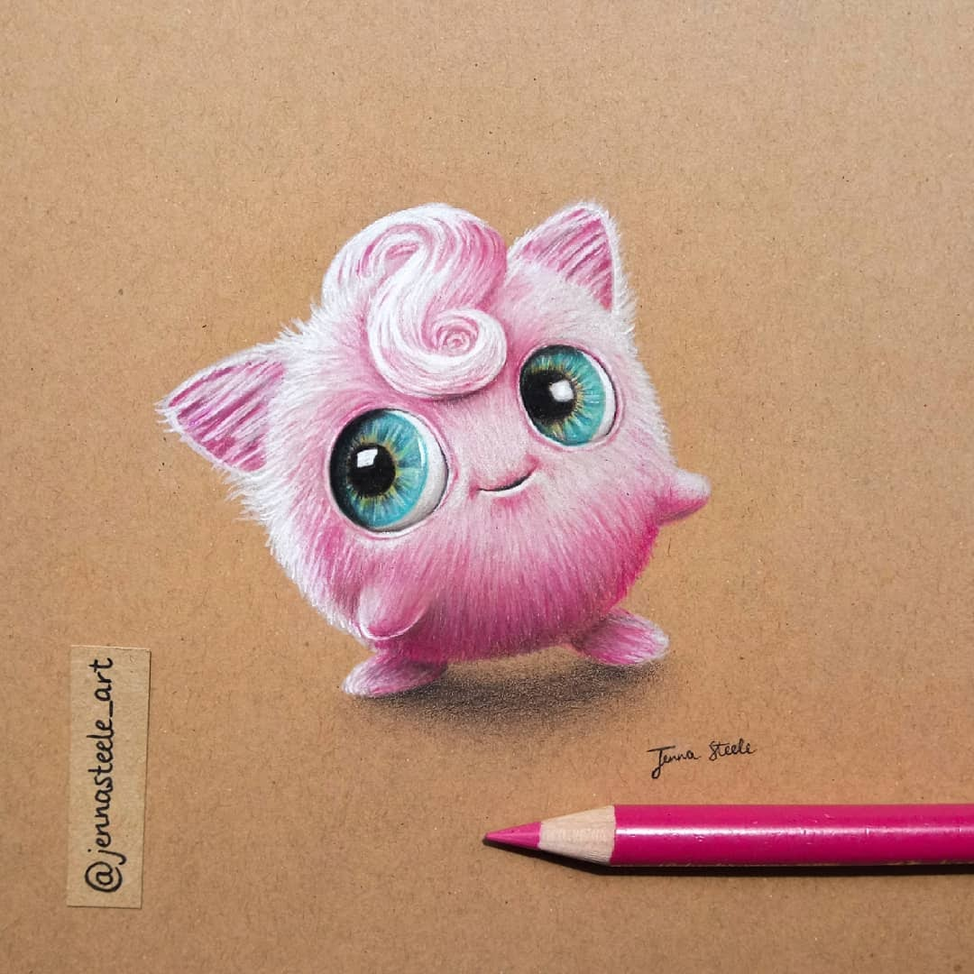 05-Jigglypuff-Pokemon-Jenna-Steele-Collection-of-Pencil-Drawings-www-designstack-co