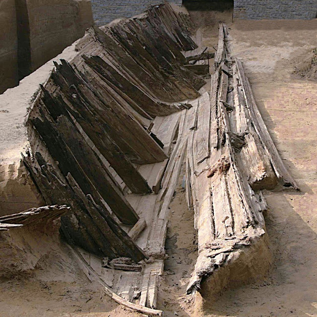 Construction workers in China find wreck of Mongol merchant ship