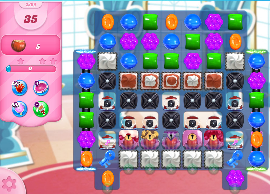 Candy Crush Saga level 2899
