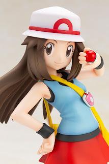 """Figuras: Imágenes y detalles de ARTFX J Leaf y Squirtle de """"Pokemon"""" - Kotobukiya"""