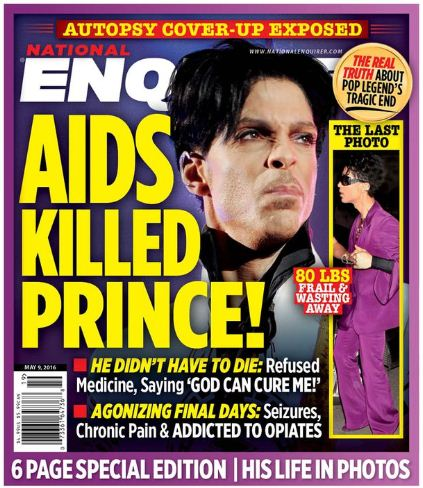 Prince died of AIDS, says new report