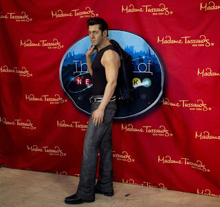 Salman Khan's Wax Figure unveiled at Madame Tussauds New York