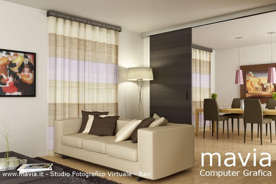 Arredamento di interni rendering interni 3d mobili for Programma arredamento 3d